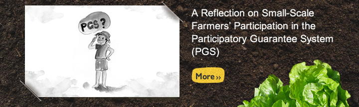 A Reflection on Small-Scale Farmers' Participation in the Participatory Guarantee System (PGS)