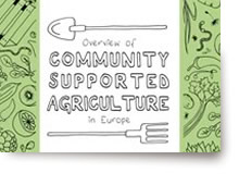 Overview of Community Supported Agriculture in Europe